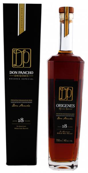 Origenes Don Pancho 18YO Panama Rum 0,7 Liter 40%