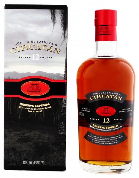 Ron de El Salvador 12YO Cihuatan Reserva Especia 0,7 Liter 40%