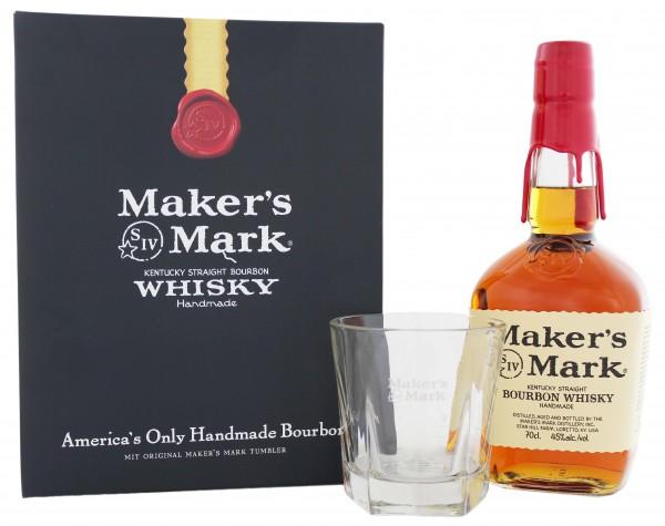 Maker's Mark Geschenkset 0,7 Liter 45%