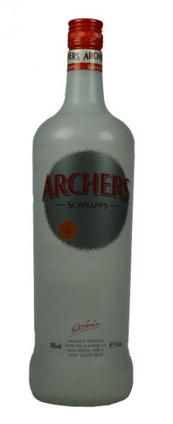Archers Schnapps Peach 1 Liter