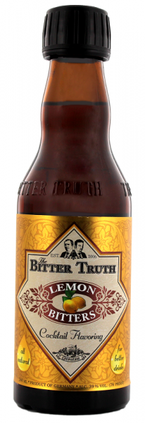 The Bitter Truth Lemon Bitters 0,2 Liter 39%