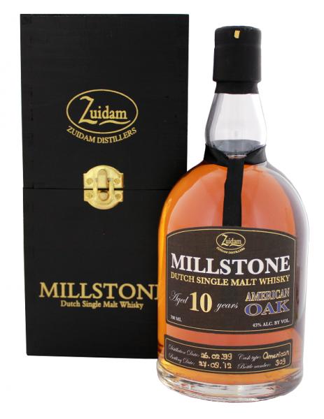 Zuidam Millstone 10YO Malt Whisky American Oak 0,7 Liter 43%