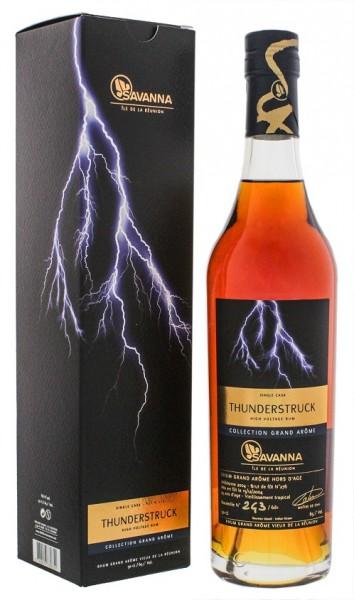 Savanna 14YO Collection Grand Arome Thunderstruck Single Cask Rhum 0,5 Liter 65,1%