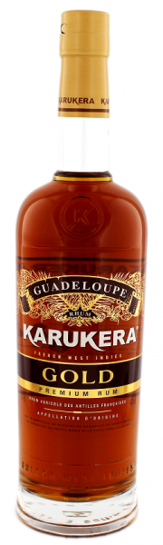 Karukera Gold Agricole Rum 0,7 Liter 40%