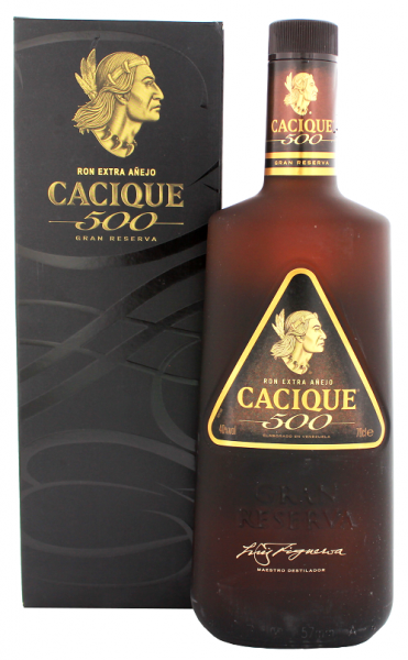 Cacique 500 Extra Anejo Rum 0,7 Liter 40%