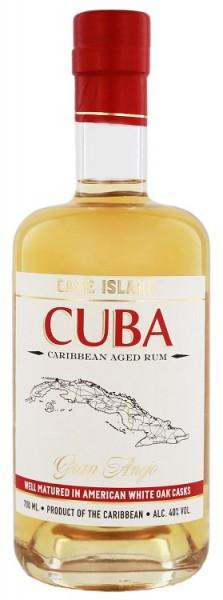 Cane Island Cuba Aged Rum Gran Anejo 0,7 Liter 40%