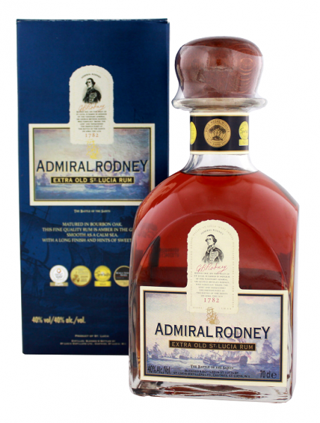 Admiral Rodney Extra Old Rum 0,7 Liter 40%