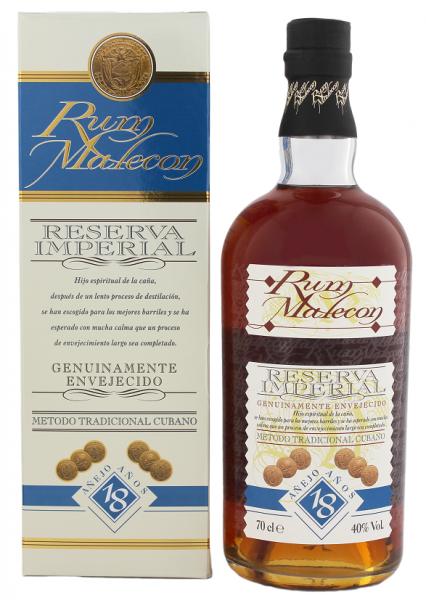 Malecon 18YO Reserva Imperial Rum 0,7 Liter 40%