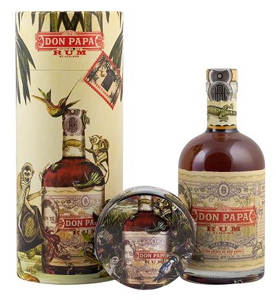 Don Papa Rum 0,7 Liter 40% (inkl. T-shirt Gr.L)