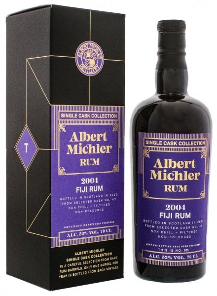 Albert Michler Fiji 2004/2020 Single Cask Collection Rum 0,7 Liter 52%
