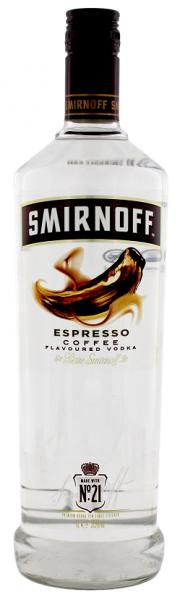 Smirnoff Espresso Italien 1 Liter 37,5%