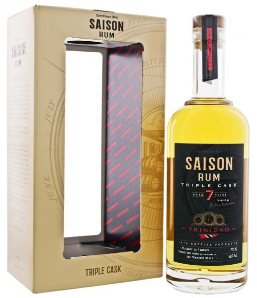 Saison Trinidad 7YO Triple Cask Rum 0,7 Liter 48%