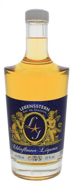 Lebensstern Elderflower Liqueur 0,7 Liter 22%