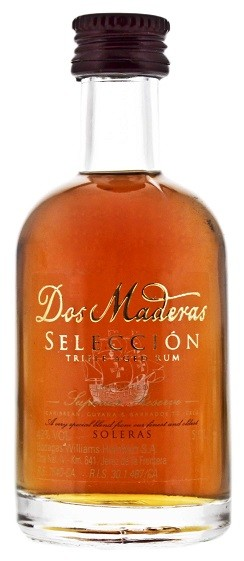 Dos Maderas Seleccion Rum 0,05 Liter 42%