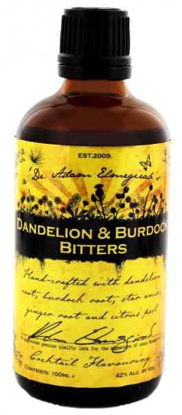 Dr. Adam Elmegirab's Dandelion & Burdock Bitters 0,1 Liter 42%