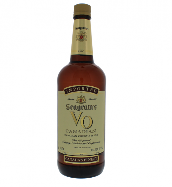 Seagram's VO Canadian Whisky 1 Liter 40%