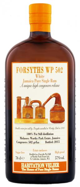 Habitation Velier Forsyths WP 502 Jamaica Pure White Rum 0,7 Liter 57%