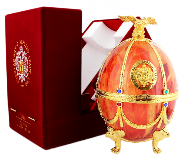 Imperial Collection Faberge Ei (orange) 0,7 Liter 40%