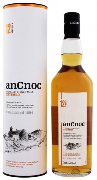 An Cnoc 12YO Single Malt Scotch Whisky 0,7 Liter 40%