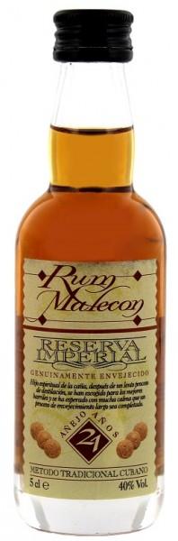 Malecon 21YO Reserva Imperial Rum 0,05 Liter 40%