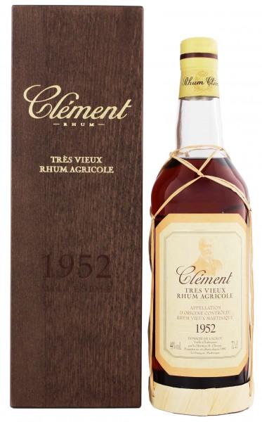 Clément Tres Vieux Vintage 1952 44% 0,7 Liter