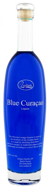 Zuidam Blue Curacao 0,7 Liter 24%
