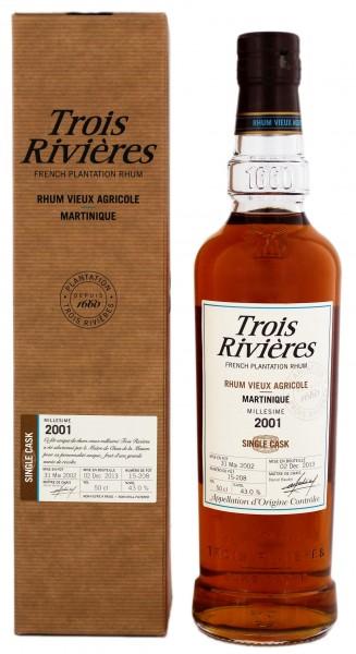 Trois Rivieres Vieux Millesime 2001/2013 Single Cask 0,5 Liter 43%