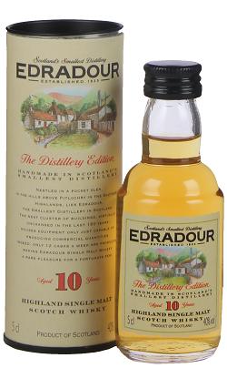 Edradour Malt Whisky 10YO 0,05 Liter