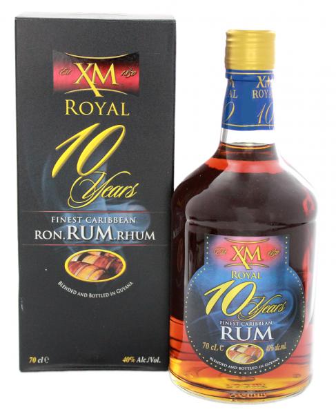 XM 10YO Royal Rum 0,7 Liter