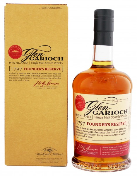 Glen Garioch Founder's Single Malt Scotch Whisky 1 Liter 48%