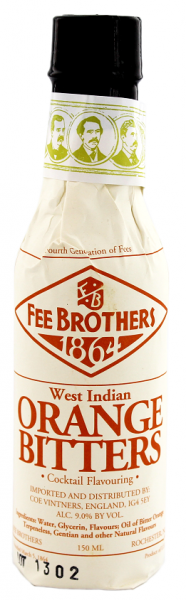 Fee Brothers Orange Bitters 0,15 Liter 9%