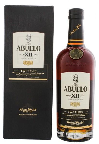Abuelo 12YO Two Oaks Rum 0,7 Liter 40%