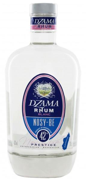 Dzama Nosy-Be Prestige Blanc Rhum 0,7 Liter 42%