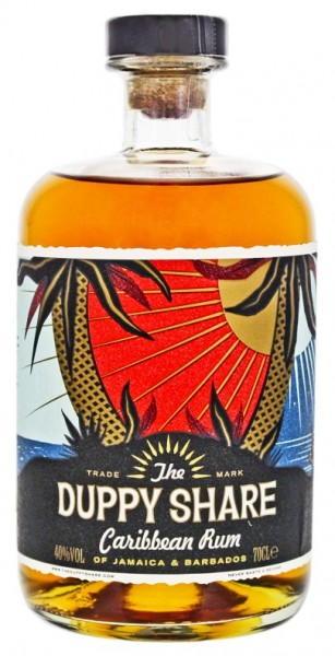The Duppy Share Caribbean Rum 0,7 Liter 40%