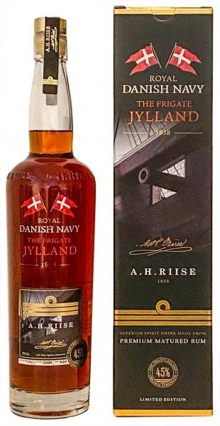 A.H. Riise Fregatten Jylland Royal Navy Rum 0,7 Liter 40%