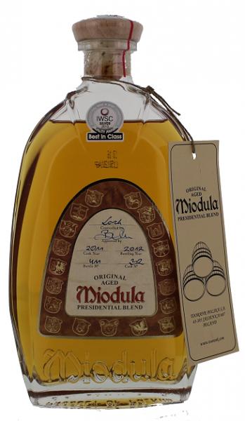 Miodula Presidential Blend 0,7 Liter 40%