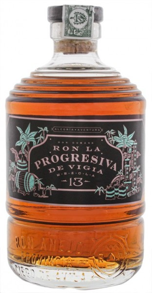 La Progresiva De Vigia Mezcla 13 Rum 0,7 Liter 41%