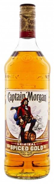 Captain Morgan Original Spiced Rum 1 Liter