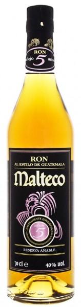 Malteco 5YO Reserva Amable Rum 0,7 Liter 40%