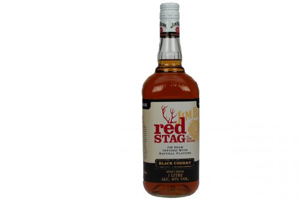 Jim Beam Red Stag Black Cherry 1 Liter 40%