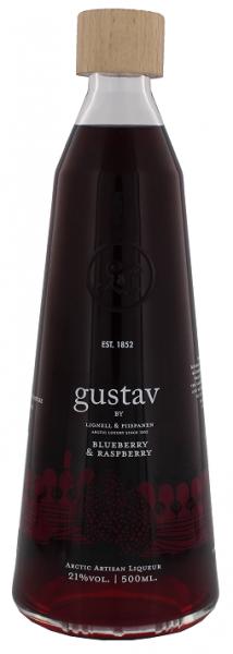 Gustav Arctic Blueberry & Raspberry Liqueur Finnland 0,5 Liter 21%