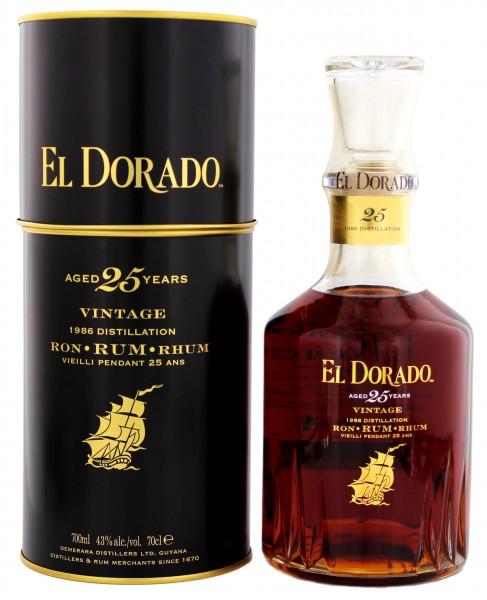 El Dorado 25YO Rum 0,7 Liter