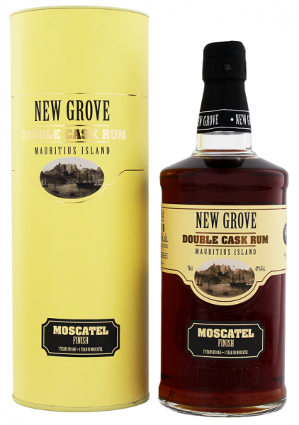 New Grove Double Cask Moscatel Finish 0,7 Liter