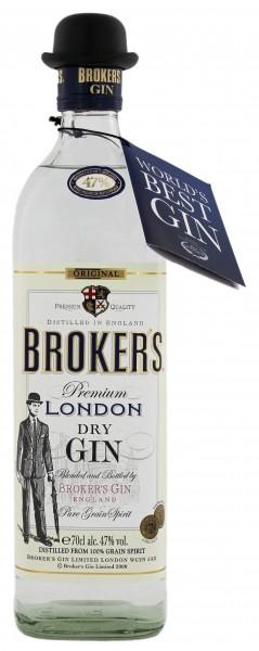 Broker's Premium Gin - England 0,7L