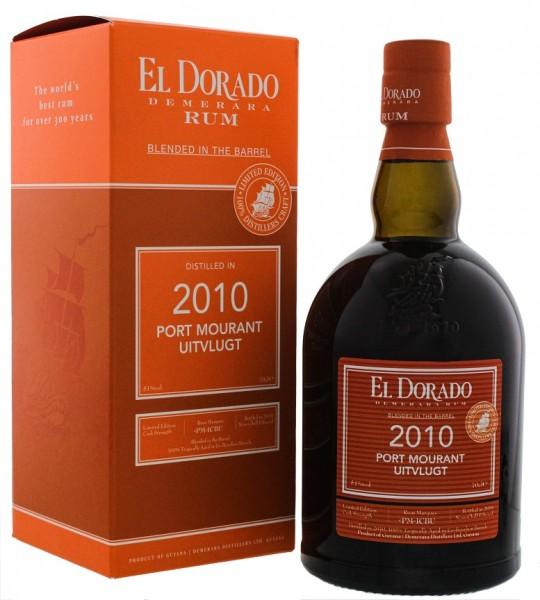 El Dorado Blended in the Barrel 2010/2019 Port Mourant Uitvlugt Rum 0,7 Liter 51%