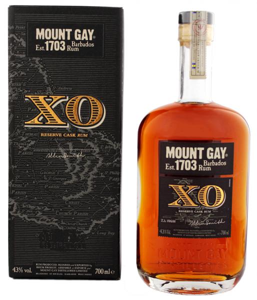 Mount Gay XO Reserve Cask rum0,7 Liter 43%