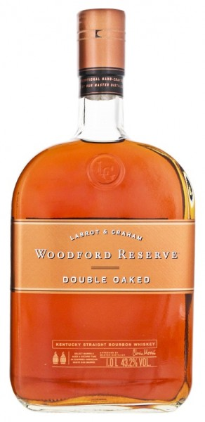 Woodford Reserve Double Oaked Bourbon Whiskey 1 Liter 43,2%