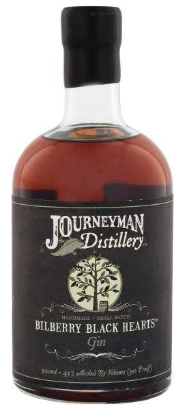 Journeyman Bilberry Black Hearts Gin 0,5 Liter 45%
