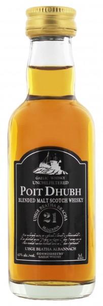 Poit Dhubh 21YO 0,05 Liter