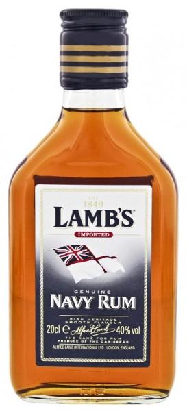Lamb´s Navy Rum 0,2 Liter 40%
